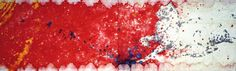 Omar Galliani Le tue macchie nei miei occhi, 1982 dittico, inchiostro su carta, 200x600