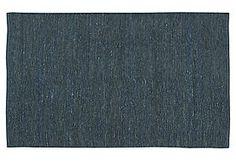 Blue Continental Rug