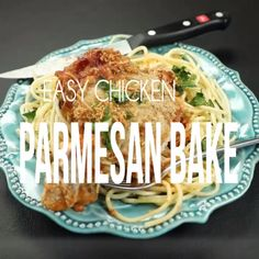 Dinner Recipes videos The EASIEST Chicken Parmesan recipe- Perfect delicious easy dinner recipe. The EASIEST Chicken Parmesan recipe- Perfect delicious easy dinner recipe. Easy Chicken Parmesan Bake, Parmesan Pasta, Healthy Chicken, Chicken Recipes Video, Recipe Chicken, Cooking Recipes, Healthy Recipes, Cooking Videos, Meat Recipes