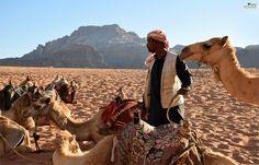 Beduino en Wadi Rum. Jordania