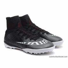 53ca68df Nike Mercurial Superfly X Street TF Turf Black/White/Hot Lava $86.99