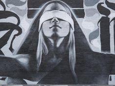 justice in hollywood, ca_by_El Mac600_450 #streetart, #graffiti, https://apps.facebook.com/yangutu