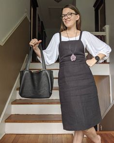 """Day a new make from earlier this month! This is a leather Nummi bag from 'Breaking the Pattern Book"""" by Named Clothing. Pattern Names, Pattern Books, Named Clothing, Charlotte, Sewing, Cute, How To Make, Leather, Bags"""