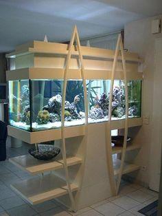 53 Aquarium Design Ideas That Make your Home Look Beauty Aquarium Stand, Aquarium Cichlidés, Aquarium Design, Nature Aquarium, Terrariums, Aquariums, Support Pour Aquarium, San Antonio, Conception Aquarium