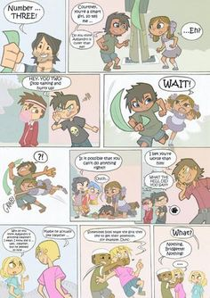 Total drama kids comic pag 20 by Kika-ila on DeviantArt Total Drama Island, Drama Memes, Hipster Girls, Kids Pages, Make A Man, Comic Page, 90s Kids, Best Shows Ever, Cartoon Network