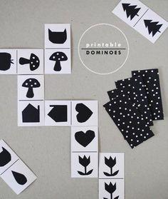 Printable Dominoes for Kids