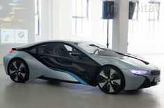 PHOTOS: BMW Unveils i3 Electric Car and i8 Hybrid Electric Vehicle on US Soil for the First Time!