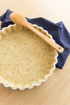 Pâte à tarte brisée vegan à l'huile d'olive et à l'origan Plus