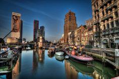 De Oude Haven in de vroege morgen (Rotterdam)