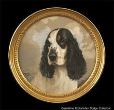 Dog Portrait by Reuben Ward Binks | Content in a Cottage