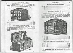 Montgomery Ward 1875 Trunk Catalog