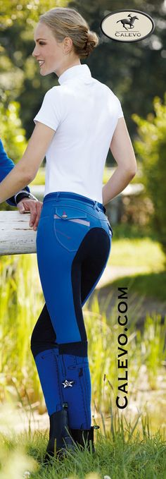 Euro Star - Women's Fullseat Breeches RUBY - CALEVO.com Store