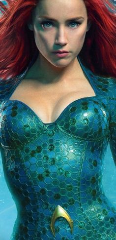 Blonde Hair Discover Mera Aquaman Wine red lace front wigs for women mermaid cosplay wigs pastel full lace wigs for black women 24 in cm) long Chica Fantasy, Fantasy Girl, Marvel Girls, Comics Girls, Red Lace Front Wig, Dc Heroes, Marvel Dc Comics, Celebs, Celebrities