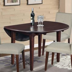 Found it at Wayfair - Brunswick Extendable Dining Table