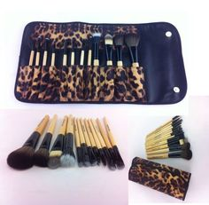 12 Pcs PRO Makeup Brush Set (African Leopard) leather case. Eyebrow Pencil Lip Liner & Goat Brushes, Bamboo Handle. High Quality, Professional Brushes. Compare to Sigma, Shany, Ecotools Beauty Solutions,http://www.amazon.com/dp/B0078HTLJY/ref=cm_sw_r_pi_dp_tNDPsb1C2WDE877T