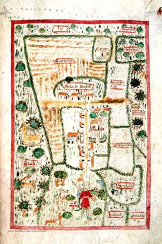 We have the oldest known village map in the county - Boarstall around 1444 & 1446