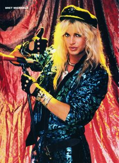 Bret Michaels 80s Hair Metal, Hair Metal Bands, 80s Hair Bands, Bret Michaels Poison, Bret Michaels Band, Rock & Pop, Rock And Roll, Hard Rock, Lita Ford
