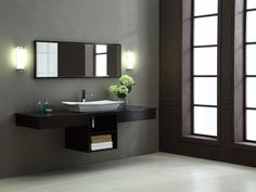 Vip Home Design and Decoration Ideas Luxury Bathroom Vanities, Floating Bathroom Vanities, Bathroom Vanity Designs, Zen Bathroom, Bathroom Vanity Cabinets, Simple Bathroom, Modern Bathroom Design, Bathroom Ideas, Bathroom Storage