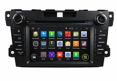 """1024*600 2 din 7"""" Android 5.1 car video player for Mazda CX-7 2012-2013 With GPS Mirror link 3G/WIFI Bluetooth IPOD TV Radio"""