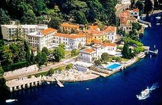 Grand Hotel Imperiale & Resort, Moltrasio, Italy - we loved Moltrasio and taking water taxis everywhere