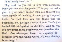 Another quote from Eat, Pray, Love. - I absolutely loved this one from Richard.