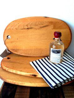 Artisan Oval Cutting Board via Atomic Garden Oakland
