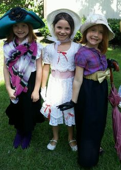 Mary Poppins Costume Party
