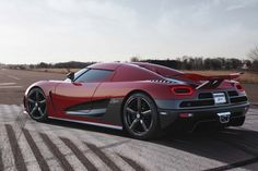 38. The sexiest car ever to come out of Sweden, the Koenigsegg Agera R debuted in March 2011 at the Geneva Motor Show. Its 5-liter twin-turbo V8 engine uses biofuel to produce an astounding 1,115 horsepower.