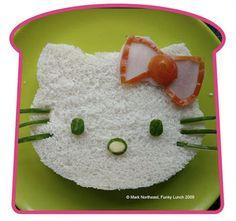 Bocadillo de Hello Kitty