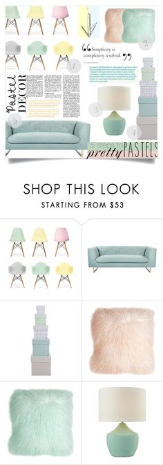 """""""Simplicity is complexity resolved xx"""" by kelseyleigh3 ❤ liked on Polyvore featuring interior, interiors, interior design, home, home decor, interior decorating, Ciel, Nimbus, HAY and Pillow Decor"""