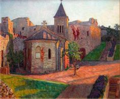 Church View - Nikolay Bogdanov-Belsky