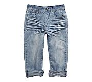 casual crease front jeans a must $70