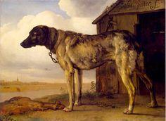Paulus Potter, Wolfhound (1650-52). via flickr, hat tip to alwaysalbrecht