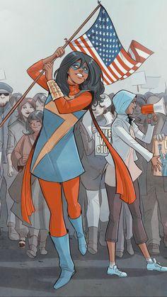 Ms Marvel Captain Marvel, Marvel Art, Marvel Dc Comics, Marvel Avengers, Dc Comics Women, Marvel Women, Tony Stark, Ms Marvel Kamala Khan, Loki