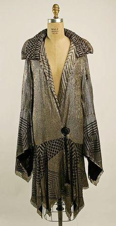 Coat 1926 The Metropolitan Museum of Art Nice use of assuit textile!