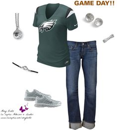 """Game Day!"" by amy-bortz on Polyvore"