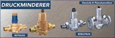 Die Druckminderer aus dem Hause NieRuf kontrollieren jeden Druck in Ihrem Rohrleitungssystem! http://www.nieruf-industriearmaturen.de/Druckminderer