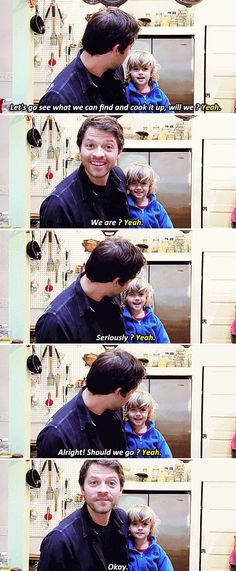 """""""[SET OF GIFS] Cooking Fast and Fresh with West!"""" Awh Westie is so cute and sassy!! Definitely a Collins."""