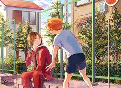 Haikyuu!! ~~ The day they met :: Hinata and Kenma