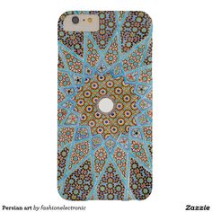 Persian art barely there iPhone 6 plus case