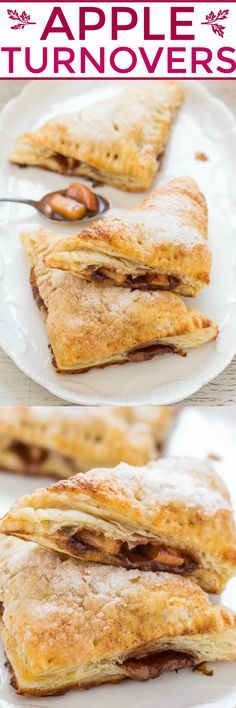 Apple Turnovers - EASY turnovers that taste like they're from a BAKERY ...