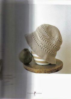 Ivelise Feito à Mão: Chapéu Em Crochê