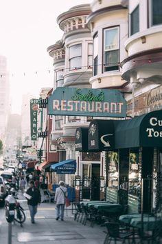 North Beach, SF Street Scene - Photo: Vincent James