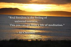 Quotes on meditation - Sri Chinmoy QuotesSri Chinmoy Quotes