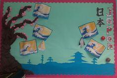 Japan Classroom Display