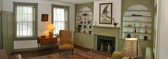 Historic Hollar House c.1840 - Front Parlor