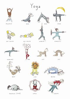 Book Review: Kids Yoga by Karin Eklund – An Illustrated Yoga Guide