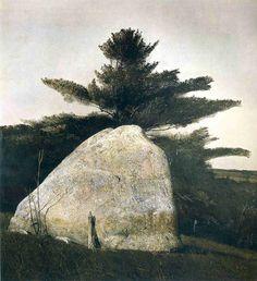 Andrew Wyeth Far from Needham, 1966 Tempera on panel
