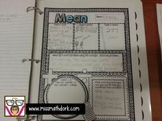 Monday Made It - math resource portfolios, a quick