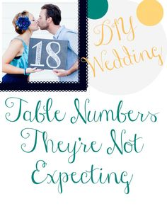 These 18 DIY Wedding Table Number Ideas are so awesome!